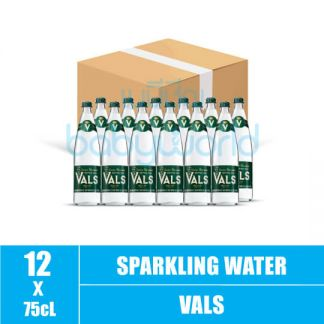 VALS Natural Sparkling Water Glass Bottle 75cl (12)(CTN)