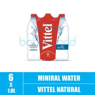 VITTEL Natural Mineral Water 1Lx6 (6)(CTN)