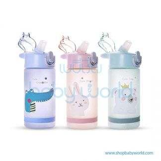 Diller plastic bottle 8849 (green, blue, pink) 550ml
