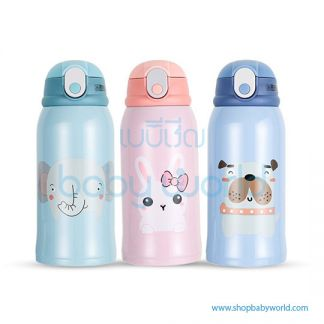 Diller thermos bottle 8794 (green, blue, pink) 500ml