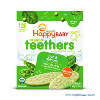 Happy Teethers Pea & Spinach 6x1.7oz (6)