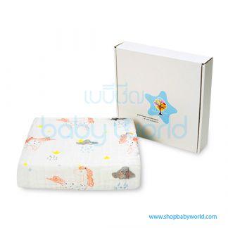 Muslin Tree 6 Layers Bath Towel 105x105cm LCY230009