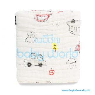 Muslin Tree 6 Layers Bath Towel 105x105cm LCY230010