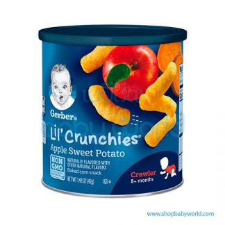 Gerber Can Crunchies Apple Sweet Potato 42g 8Months+ (6)