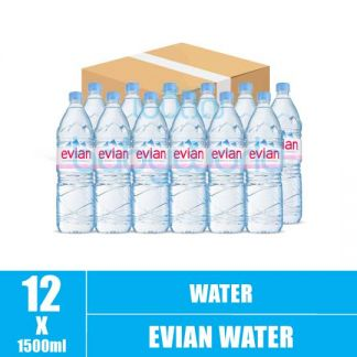 Evian Water 1.5L(12)CTN