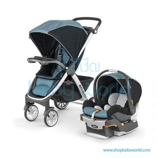 Chicco Carriola Bravo Travel System Iceland - Blue 30 4079761180070(1)