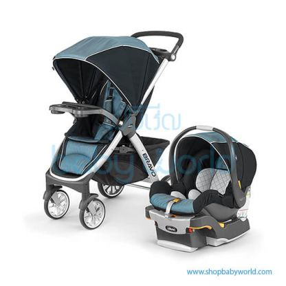 Chicco Carriola Bravo Travel System Iceland - Blue 30 4079761180070(1)