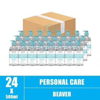 Beaver Anti-Bacterial Cleansing Hand Gel 500ml (24)CTN