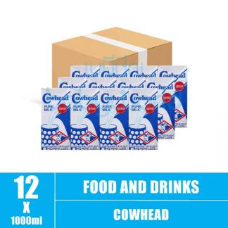 Cowhead Pure milk 1L(12)CTN