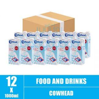 Cowhead Lite milk 1L(12)CTN