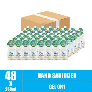 Hand Sanitizer Gel On1 250ml (48) CTN