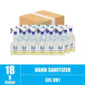 Hand Sanitizer Gel On1 650ml (18) CTN