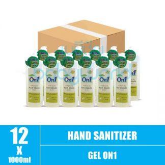 Hand Sanitizer Gel On1 1L (12) CTN