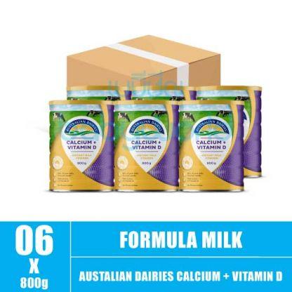 AD Calcium + Vitamin D- 1+ 800g (6)CTN