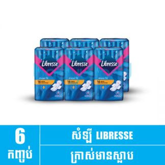 Libresse Maxi W 16's(1pack x 6)(24)