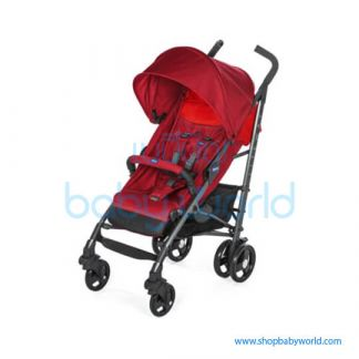 Chicco LITE WAY 3 TOP STROLLER BB RED BERRY 6079595850000