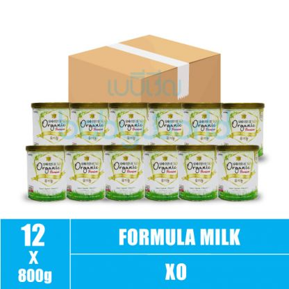 XO-Organic (2) 3-6M 800g (12)CTN