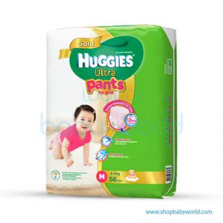 Huggies ULTRA PANTS GIRL SUPER JUMBO M-56