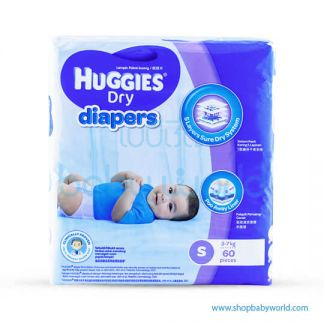 Huggies DIAPER DRY SUPER JUMBO S-60