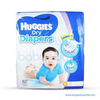 Huggies DIAPER DRY SUPER JUMBO M-74