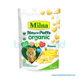 Milna Rice Puff Banana 15g (24)