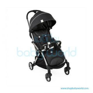 Chicco Goody with bumper bar, kit comfort, shoulder strap, raincover included Black