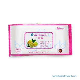 NANAMI 90 sheet Organic Lemon (24)