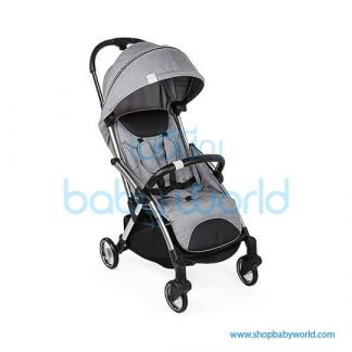 Chicco Goody with bumper bar, kit comfort, shoulder strap, raincover included Gray