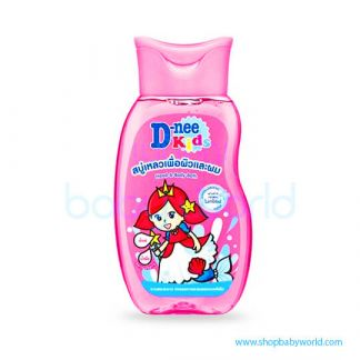 D-nee Kid Head &Body 200ml Pink (24)