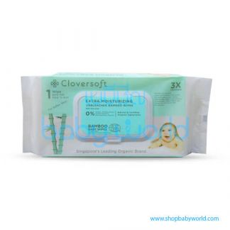 Cloversoft Extra Moisturising Baby Wipes 70's (24)