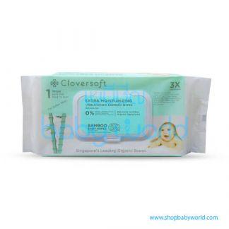 Cloversoft Extra Moisturising Baby Wipes 70's (24)