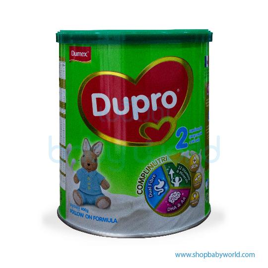 Dumex Dupro (2) 6-24M 400g New (24)CTN