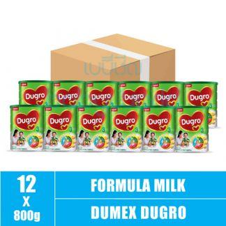 Dumex Dugro (3) 2y+ 800g New (12) CTN