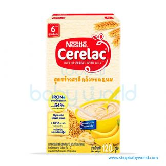 Nestle Cerelac BL Whe Banana 120g (40)