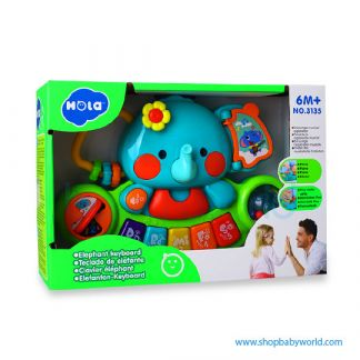 Hola Elephant keyboard with music, light, sound effects 3135 (24)