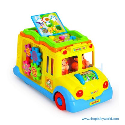 Hola Keep Me Busy School Bus with Light/Music/Electric Universal 796 (12)