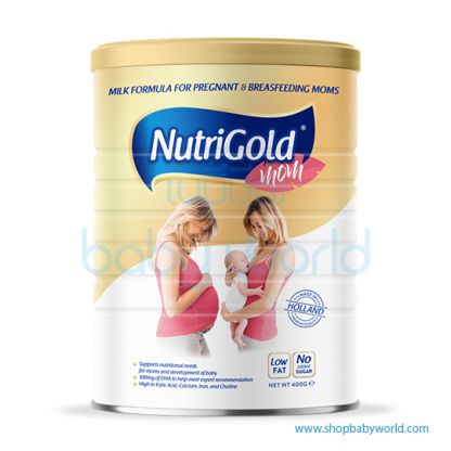 NutriGold Mom With DHA 400g (24)