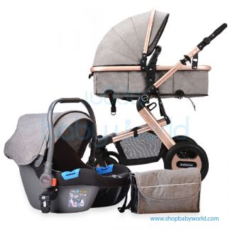 Coolov Baby Stroller 810 (3 in 1)
