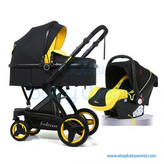 Coolov Baby Stroller Q3 (2801) (3 in 1)