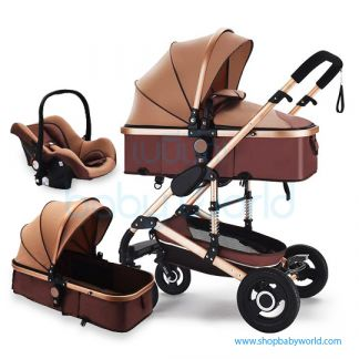 Coolov Baby Stroller X6 (3 in 1)