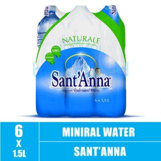 Sant'Anna Natural Mineral Water 1.5L (6)CTN