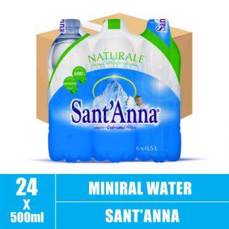 Sant'Anna Natural Mineral Water 500ml (24)CTN