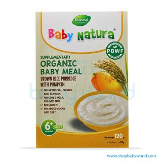 Baby Natura Brown Rice With Pumpkin 120g (6)