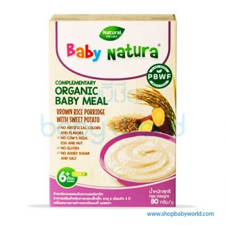 Baby Natura Brown Rice With Sweet Potato 80g (5)