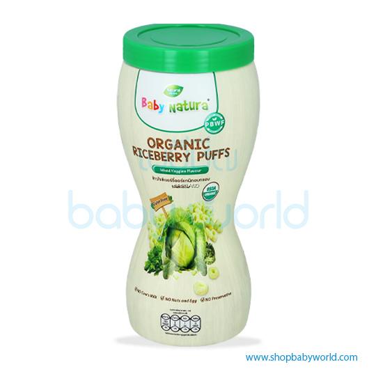 Baby Natura Puffs Mixed Veggies Flavour 40g (1)