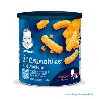 Gerber Lil'Crunchies Mild Cheddar 42g (6)