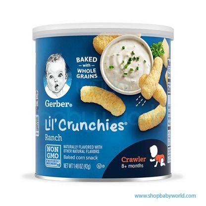 Gerber Lil'Crunchies Ranch 42g (6)