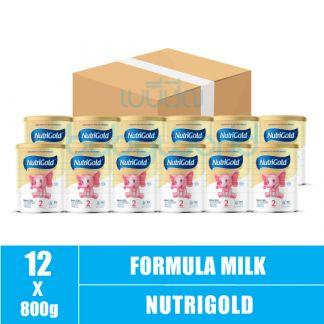 NutriGold SmartGro 2xDHA(2) 6-24M 800g (12) CTN